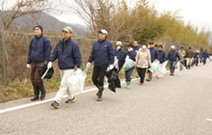 IMAGE:Participation in the Inukami River Clean Strategy 2